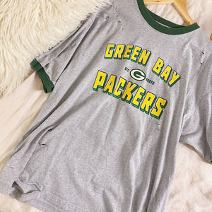 NFL Green Bay Packers Hand-Distressed Graphic Tee